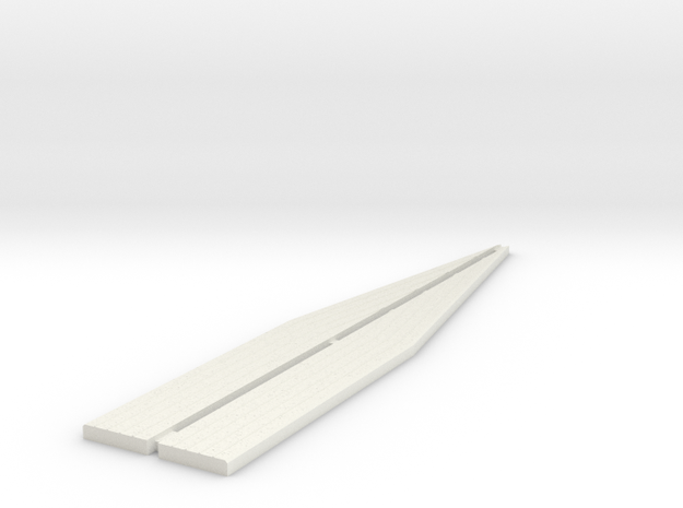 Loading Bank Edging - Ramps in White Strong & Flexible