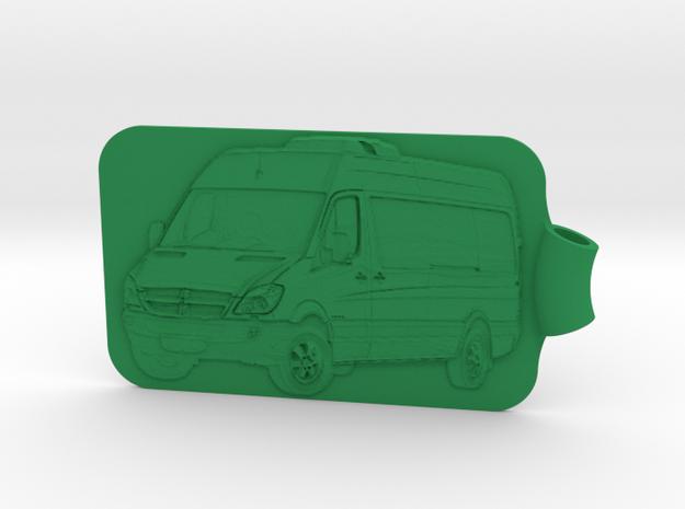 Sprinter NCV3 Passenger van Key Fob 3d printed