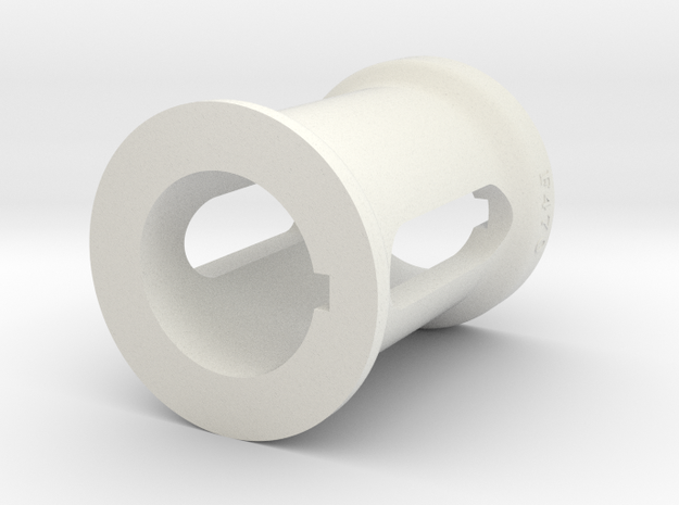 Spacer F470 in White Natural Versatile Plastic