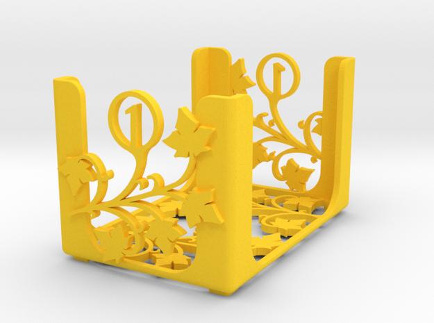 Arcadia Quest - Level 1 in Yellow Processed Versatile Plastic