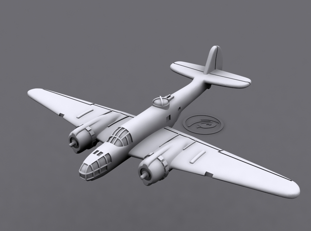 1/600 Martin 167 Maryland (x6) 3d printed 3D software render of individual aircraft