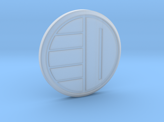 Dairanger badge 3d printed