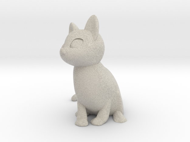 Cat in Sandstone