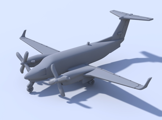 1:500 - KingAir_350 [Sprue] in Frosted Ultra Detail