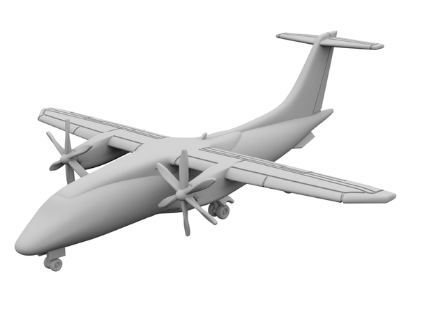 500 - Dornier 328 Prop - Solid in Smooth Fine Detail Plastic