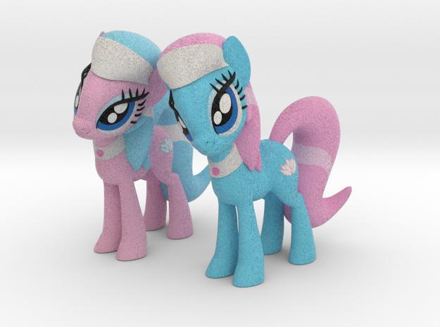 Spa Ponies in Full Color Sandstone