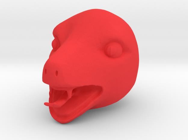 Filmation Tung Lashor in Red Processed Versatile Plastic