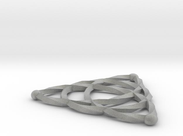 Triquetra Celtic Knot - Medium 3d printed
