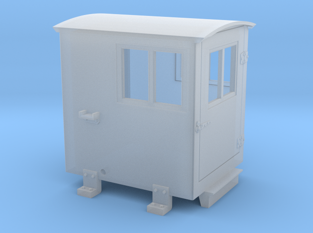Southern Ry. Doghouse for Small Tenders - HO scale in Smooth Fine Detail Plastic