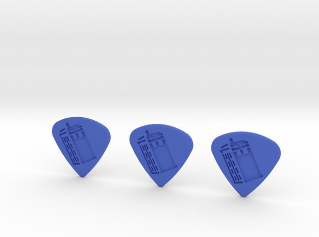 TARDIS - Pics in Blue Processed Versatile Plastic
