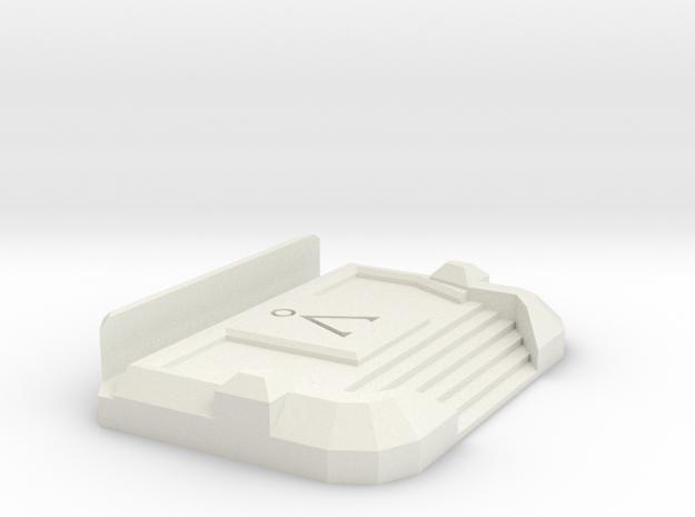 Stargate SG1 Business Card Holder in White Natural Versatile Plastic