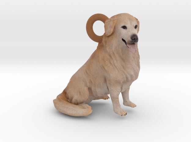 Custom Dog Ornament - Gamma 3d printed