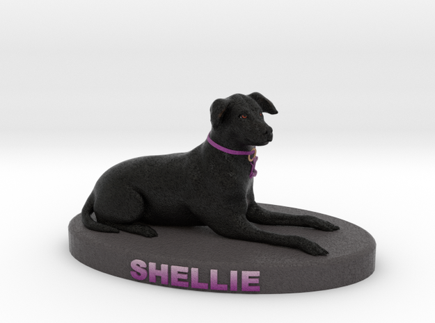 Custom Dog Figurine - Shellie 3d printed