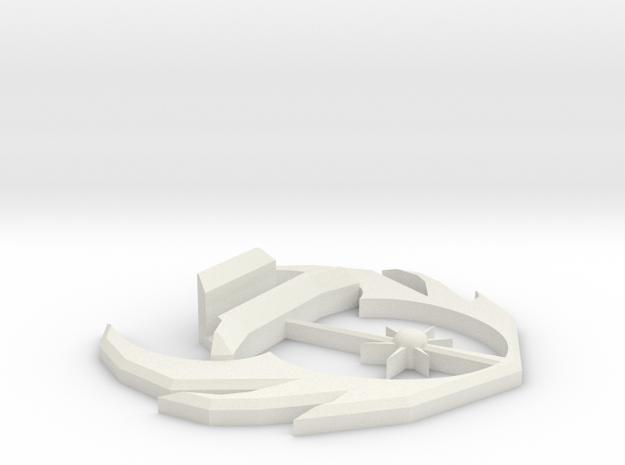 Star Wars Jedi Knights Business Card Holder in White Natural Versatile Plastic