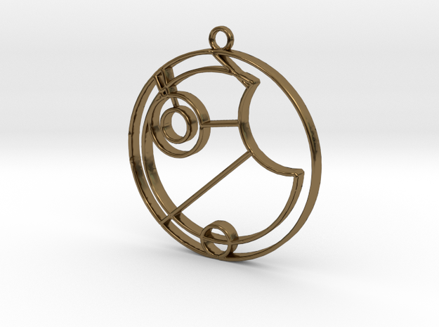 Esme - Necklace in Polished Bronze