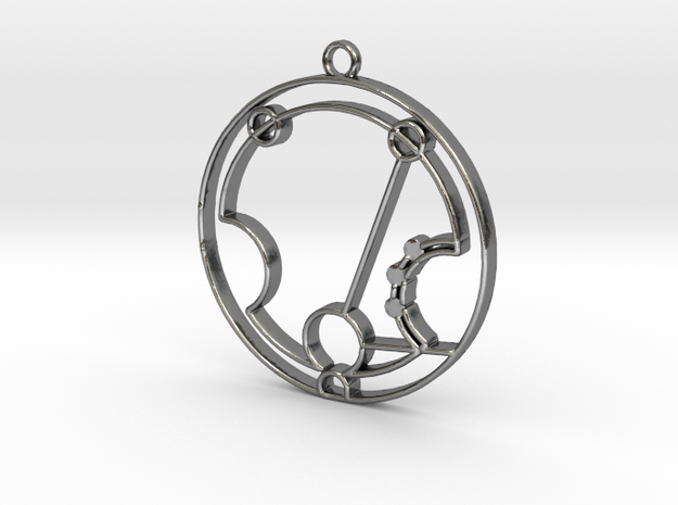 Harriet- Necklace in Polished Silver