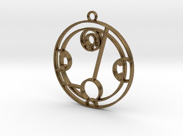 Hayley - Necklace in Natural Bronze