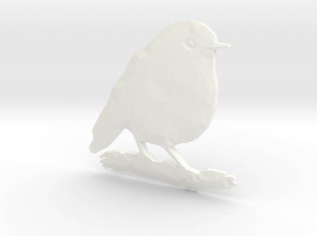 Poly Red Robin Bird