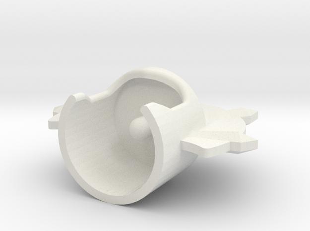 Evil Lyn 2 in White Natural Versatile Plastic