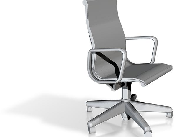 Miniature 1:24 Eames Chair 3d printed