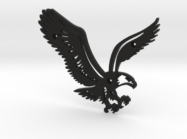 Eagle in Black Natural Versatile Plastic