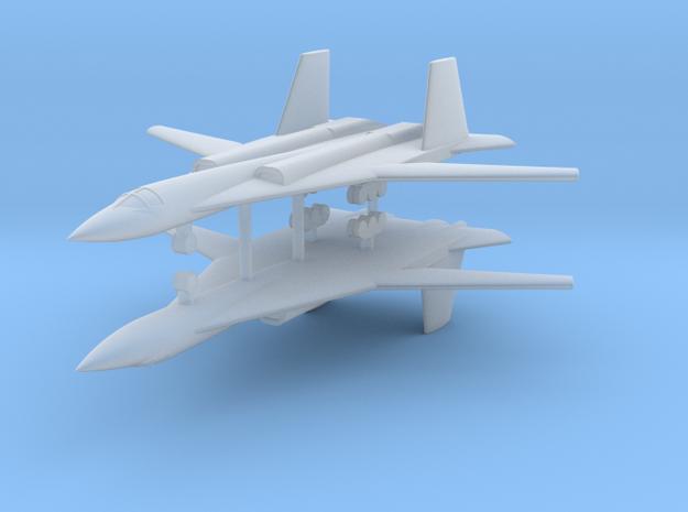 1/700 PAK-DA Stealth Bomber (x2) in Smooth Fine Detail Plastic