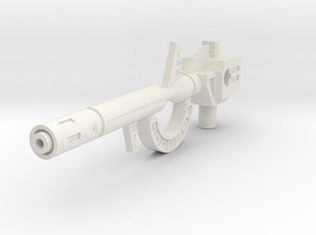 TW Roar G1 Gun Small in White Natural Versatile Plastic