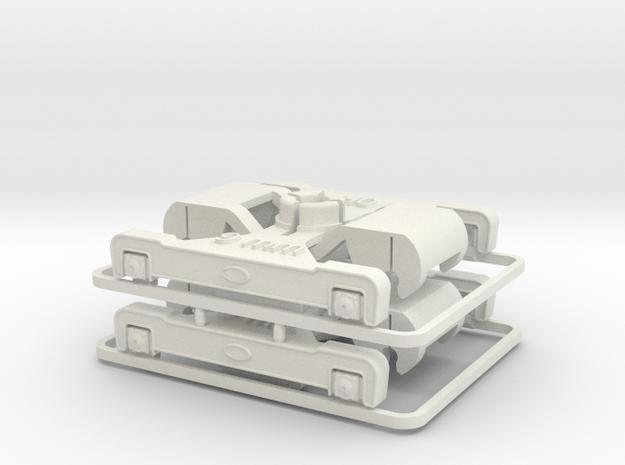 DG 4r LKD 9 mm in White Natural Versatile Plastic