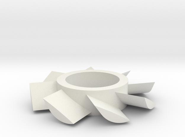 2Ã Test in White Natural Versatile Plastic