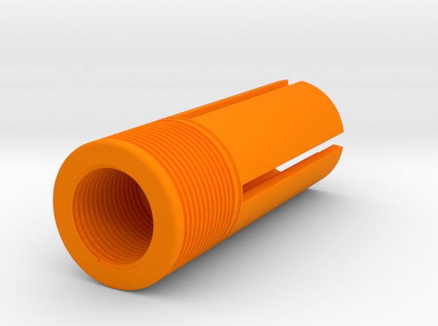 Orange Tip 55 mm Length 14mm Screw Diameter CCW in Orange Processed Versatile Plastic
