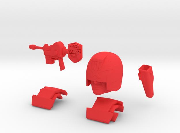 Dreddkit in Red Processed Versatile Plastic