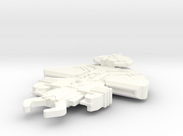 Jo'Trell Class Raider in White Processed Versatile Plastic