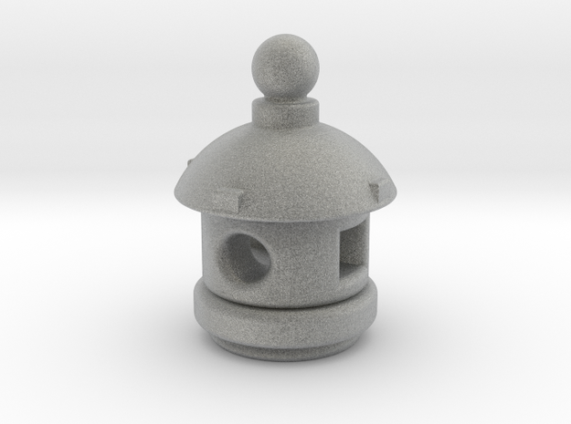 Spirit House - Small in Metallic Plastic