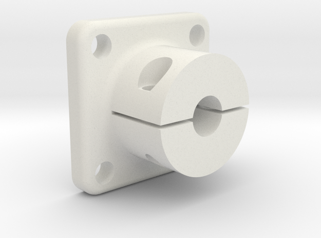 Shaft adapter 5mm in White Strong & Flexible
