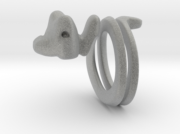 Snakering 3d printed