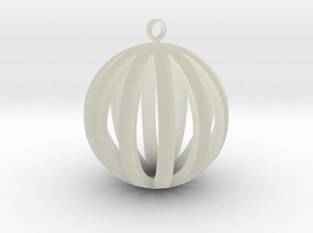 Round Pendant in Transparent Acrylic