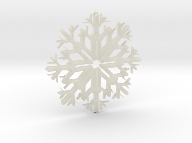 SnowFlake Design in Transparent Acrylic