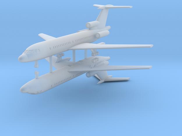 1/700 Tupolev Tu-154 (x2) in Smooth Fine Detail Plastic