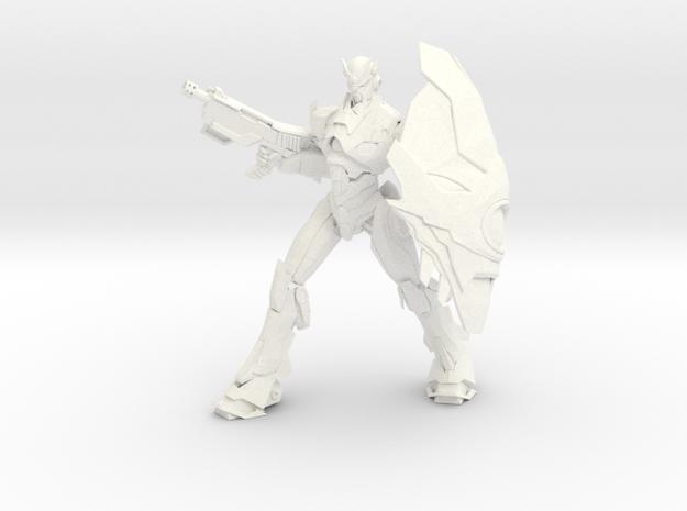 Jian - Blizzard / Jian - Ventisca in White Processed Versatile Plastic