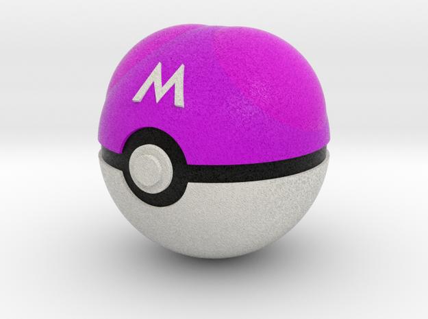 Master Ball Original Size (8cm in diameter) in Full Color Sandstone