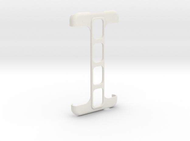 Samsung Galaxy S5 Spine case in White Natural Versatile Plastic