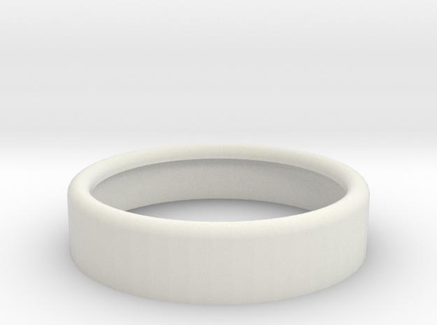 Boost Gauge Case Cap in White Natural Versatile Plastic