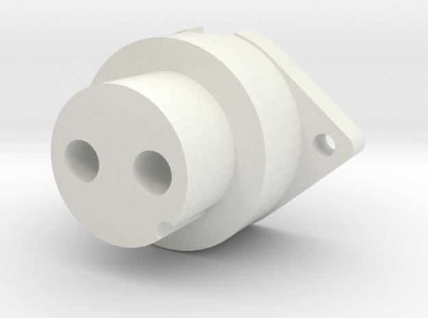 Spitfire Gunsight Power Plug in White Natural Versatile Plastic