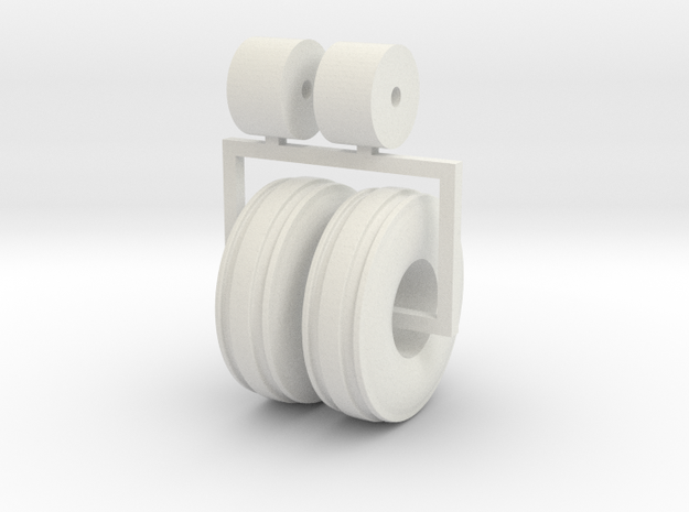 1:64 3 Rib 1100 16 tractor tires 3d printed