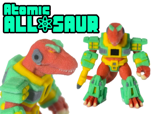 Atomic Allosaur (Colored Sandstone)
