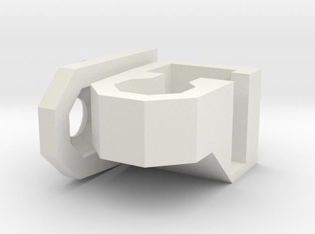 1-87 80 Cm MG Bunker Bauform 58 in White Natural Versatile Plastic