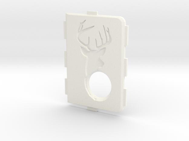 MarkV Cover - Deer in White Processed Versatile Plastic