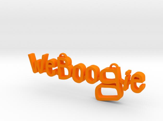 Weboogie Pendant 3d printed