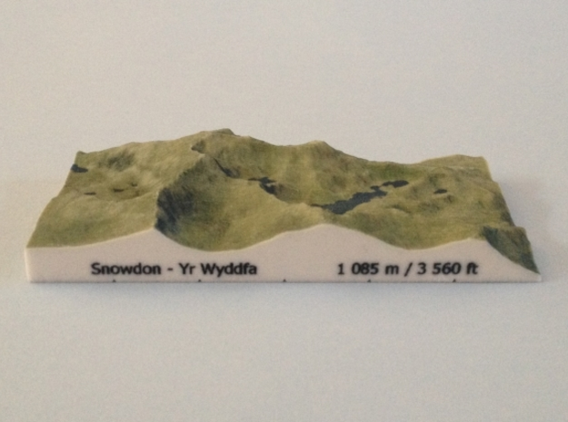 Snowdon - Photo in Full Color Sandstone