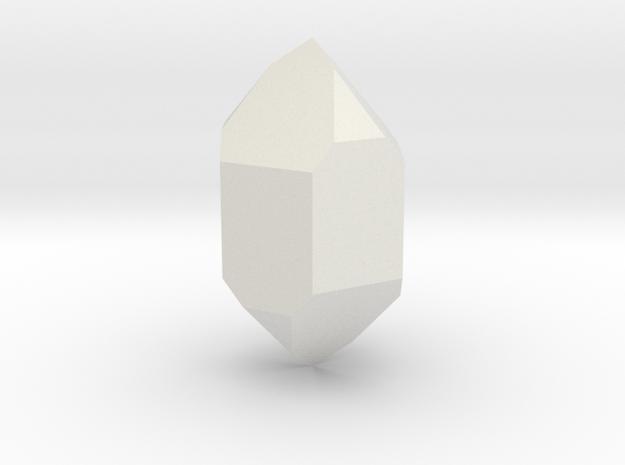 Quartz 1 in White Natural Versatile Plastic